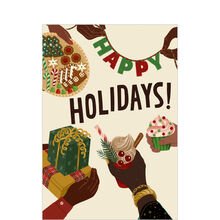 Gifts & Sharing Happy Holidays Card