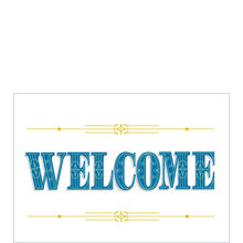 Regal Welcome Business Hallmark Card