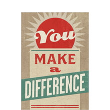Make a Difference Employee Appreciation Hallmark Card
