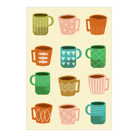 Coffee Mugs Business Hallmark Card