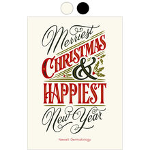 Merry Christmas, Happy New Year Design Your Own Business Hallmark Card