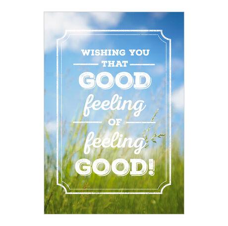 Happy Healthy You Business Hallmark Card