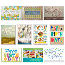 Assorted Birthday Cards For Business 50 Pack