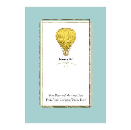 Journey On Retirement Custom Cover Business Card