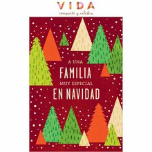 Little Christmas Trees Spanish Business Hallmark Card
