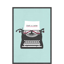 Typewriter Note