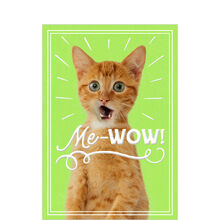 Cat's Me-Wow Employee Appreciation Hallmark Card