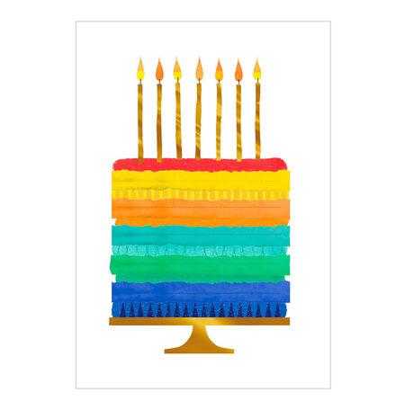 Birthday Cake With Flair