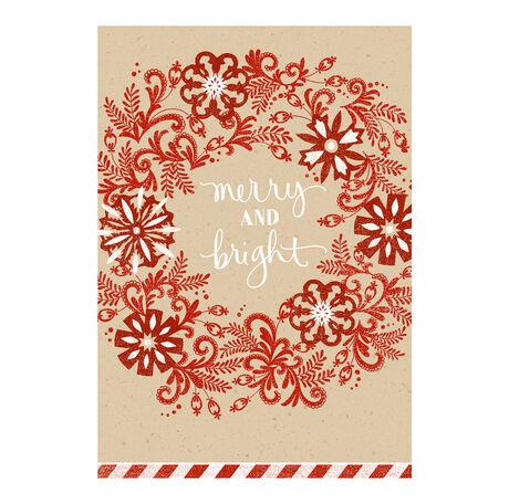 Merry, Bright Wreath