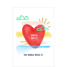 The World Needs More You Staff Appreciation Hallmark Card