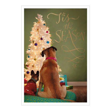 Holiday Dogs & Tree