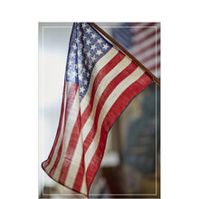 American Flag Patriotic Business Hallmark Card
