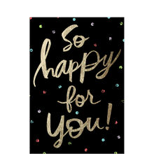 Happy for You Congrats Business Hallmark Card