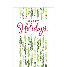 Happy Holidays Holly Business Hallmark Card