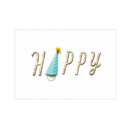 Party Hat Happy Birthday Business Hallmark Card