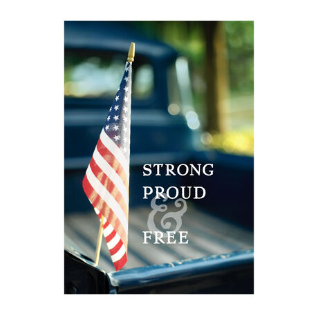 Strong, Proud & Free