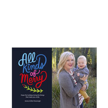 All Kinds of Merry Business Holiday Photo Card