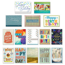 Assorted Birthday Cards For Business 75 Pack