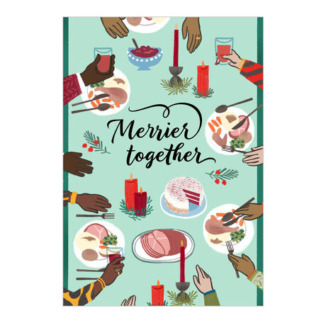 Merrier Together Holiday Card