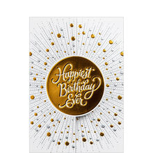 Premium Birthday Card (Happiest Ever) for Business