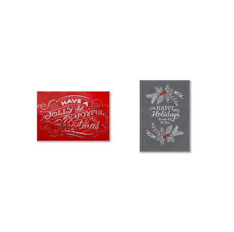 Assorted Christmas and Holiday Cards for Business, 50 Pack