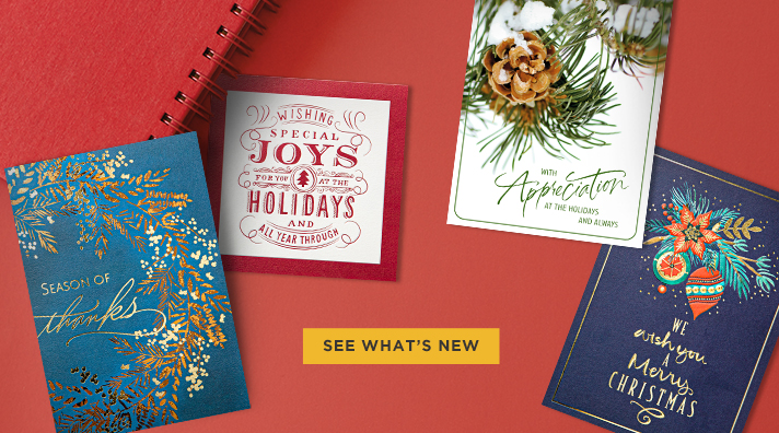 Shop Holiday Cards from Hallmark Business Connections