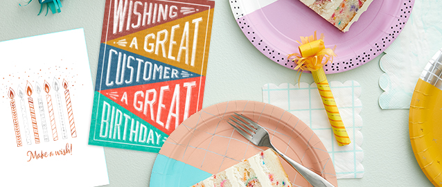 Skip the email and try a real customer birthday card this year and see how big a difference it'll make for your business.