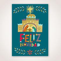 Spanish Christmas Card - Nacimiento Navideno