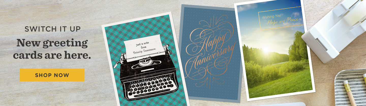 Brand new greeting cards from Hallmark Business Connections are here.