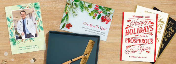 Hallmark Business Connections now offers Design Your Own greeting cards that allow businesses to send custom holiday cards.