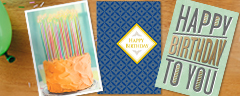 Birthday cards from Hallmark Business Connections