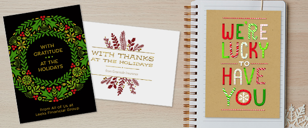 No matter what style, holiday or type of card, you'll find something that fits your company at Hallmark.