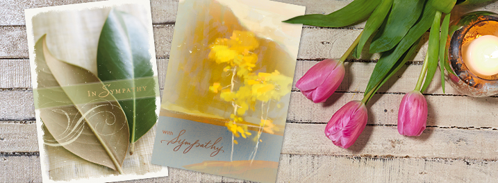 Show care and concern for customers who are grieving by sending sympathy cards from Hallmark Business Connections.