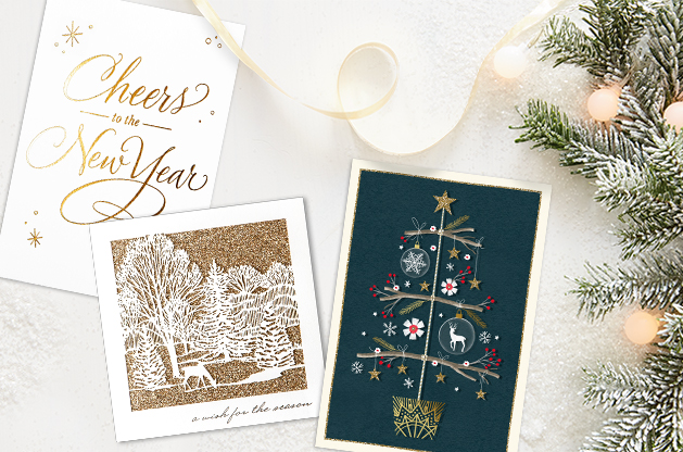 Business holiday cards from Hallmark Business Connections