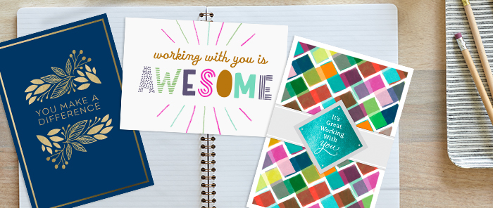 Read our 5 Tips for Writing Employee Recognition cards and messages