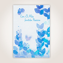 Elegant design and thoughtful sentiments abound in the Hallmark sympathy cards, which will help you show you care.