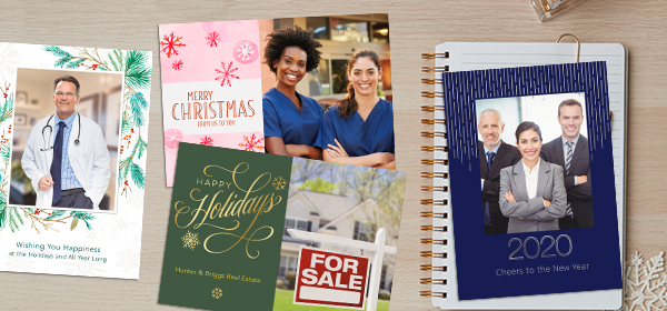 When considering photo cards for your business, think about what kind of relationship you have with your clients.