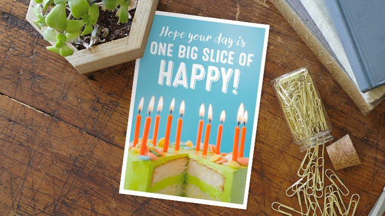 See the Hallmark Business Connections line of birthday greeting cards