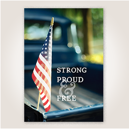 Strong Proud Free