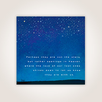 From flowers to the night sky, our carefully designed sympathy cards are the perfect way to show you care.