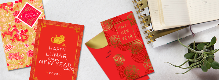 Chinese New Year Cards for Business