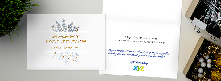 Business Holiday Cards for Customers