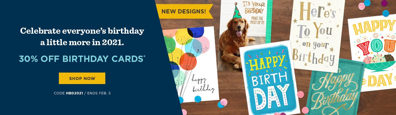 Birthday Cards sale!