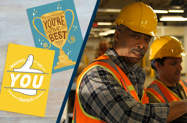 Reasons to recognize and ways to say thanks for National Safety Month.