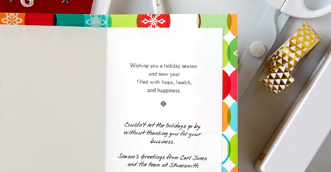 Hallmark business connections what to say with your holiday card m4hsunfo