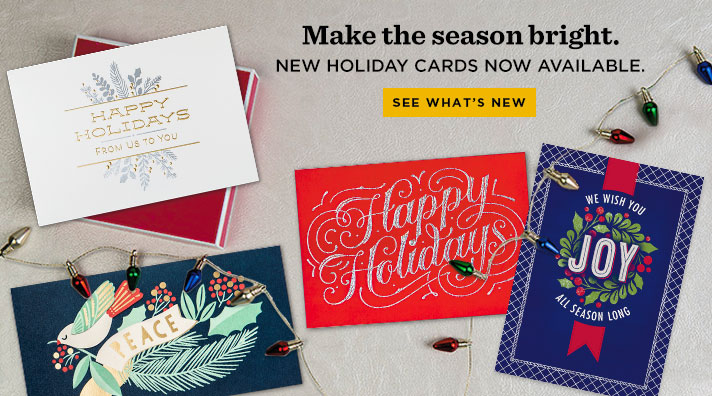 Business holiday cards corporate holiday cards hallmark business business holiday cards from hallmark colourmoves