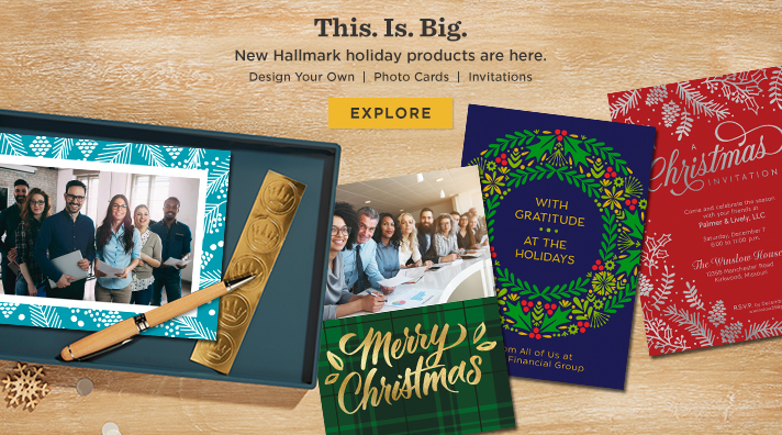 Design your own greeting cards, invitations and photo cards - new from Hallmark