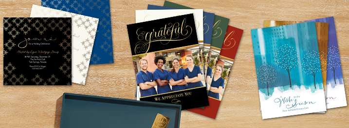 Shop our new photo cards, invitations and design your own greeting cards.