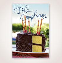 Spanish Birthday Card - Velitas de Cumpleanos