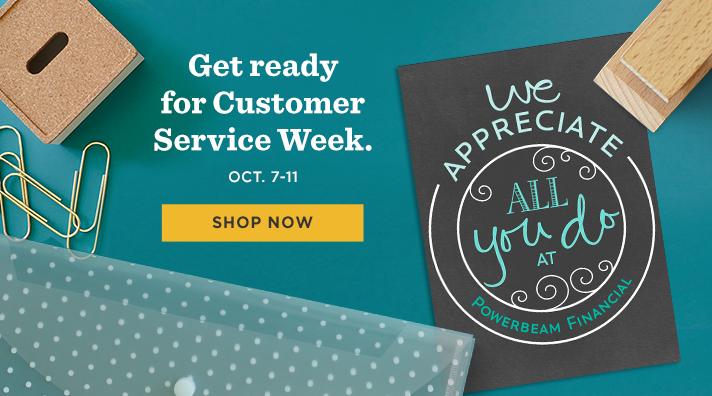 Customer Service Week is October 7-11